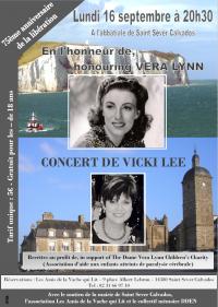 Concert donné par madame VICKI LEE