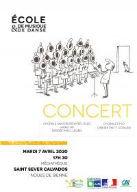 Chorales en concert à la Médiathèque