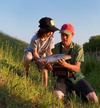 Pêche en Noues de Sienne : au bord de l'eau !