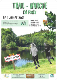 Trail/marche en forêt de Saint-Sever : inscriptions