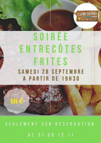 "L'étape ""entrecôtes frites"""