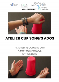 """Atelier """"cupsong"""""""