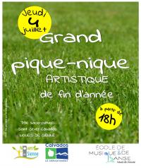 """""""Grand pique-nique artistique"""" de l'EMD"""