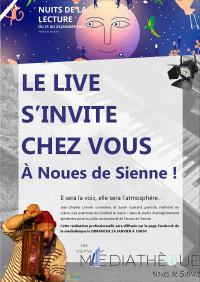 """Les nuits de la lecture en """"live"""" chez vous !"""